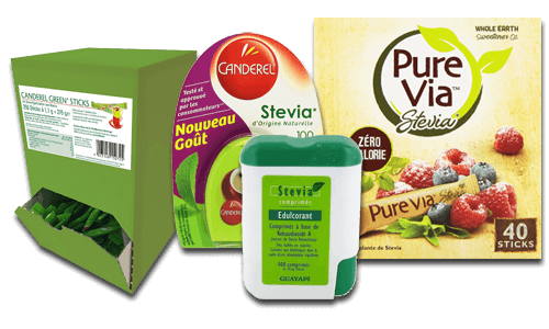 magasin sucre stevia